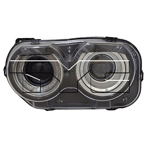 TYC 20-9630-00-1 Replacement left Head Lamp (DODGE CHALLENGER), 1 Pack -