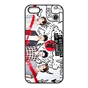 5 Second of Summer 5sos Design TPU Protective Snap On Case Cover Skin For iPhone 5 5s