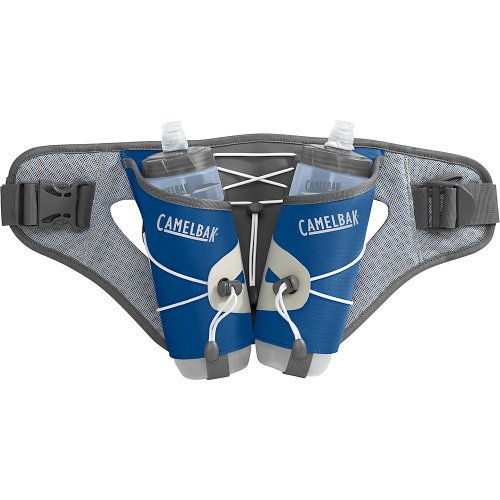 Camelbak Delaney DC Hydration WaistPack with Podium Bottle (58-Ounce, Skydiver Blue), Outdoor Stuffs