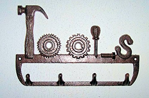 """""""ABC Products"""" - 5 - Hook - Heavy Cast Iron Tool Hook - With"""