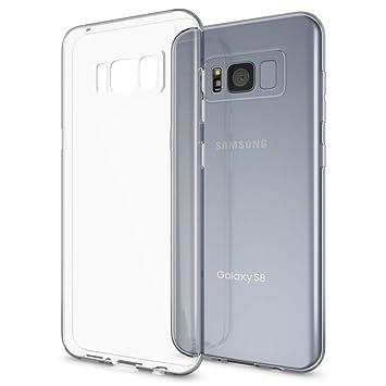 NALIA Funda Carcasa Compatible con Samsung Galaxy S8 Plus, Protectora Movil Silicona Ultra-Fina Gel Cubierta Estuche, Goma Bumper Phone Cover ...