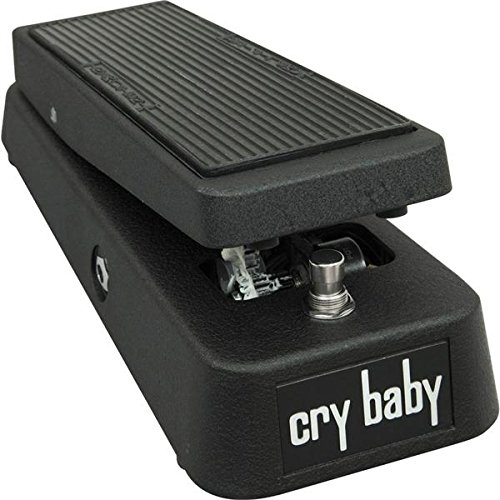 Dunlop GCB95 Cry Baby Wah Wah Pedal w/Bonus Patch Cord & RIS Picks (x3) 710137006171 by Rock Island Sound