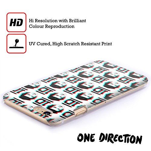 Officiel One Direction Harry Styles Anaglyphe Motifs Griffonnage Visage Étui Coque D'Arrière Rigide Pour Apple iPhone 3G / 3GS