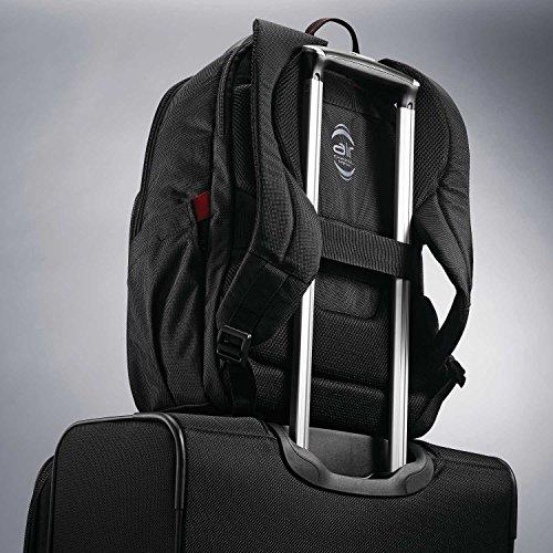 51J7fGFDCSL - Samsonite Slim Business Backpack, Black, One Size