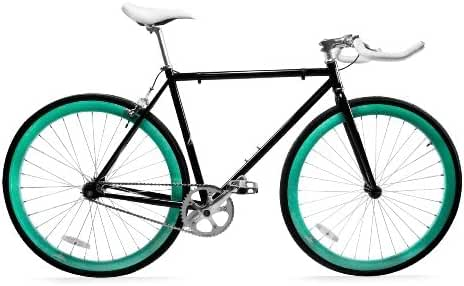Zycle Fix ZF-BKSK2-52 Black Skies II Fixed Gear Bike, 52cm/One Size Frame