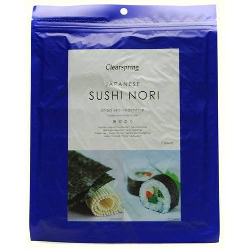 - (6 PACK) - Clearspring - Sushi Nori Sea Vegetable | 17g | 6 PACK BUNDLE