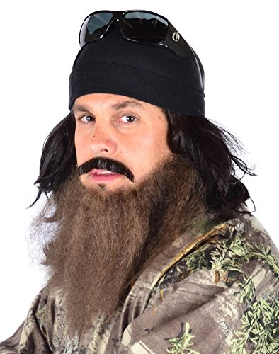 My Costume Wigs Duck Dynasty Jase Set One Size Fits (Duck Dynasty Mens Jase Costumes)