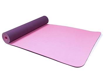 MJXVC 6MM TPE Esterillas de Yoga Antideslizantes para ...