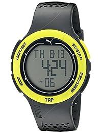 PUMA Unisex PU911211003 Puma Touch Digital Display Quartz Grey Watch