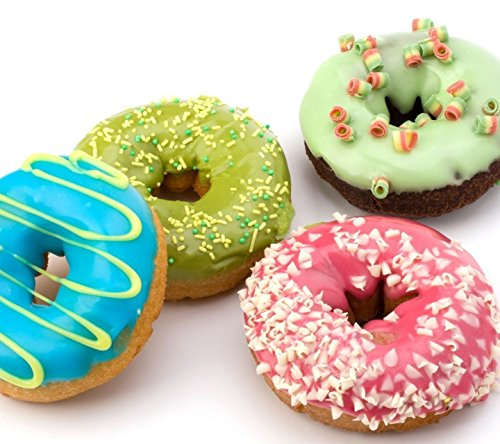 Webake Extra Thick Donut Pan 12-cavity 2.8'' Non-stick Medium Size (Donut pan) by Webake (Image #4)