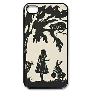 Alice in Wonderland For Samsung Galaxy S6 Case Cover Black and White For Samsung Galaxy S6 Case Cover