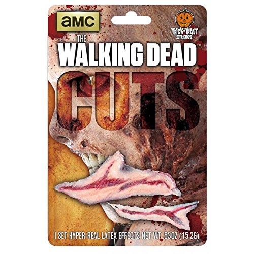 The Walking Dead: Walker Cuts Zombie Wound (Walker Costume Twd)