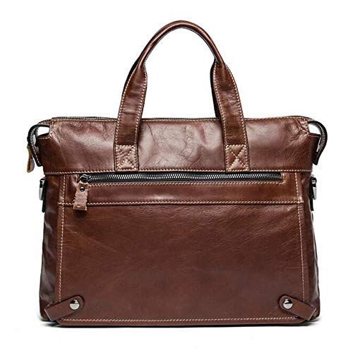 HITSAN INCORPORATION OGRAFF Men Handbags Briefcase Laptop Tote Bag Genuine  Leather Bag Men Messenger Bags Business dd206bf676aaa