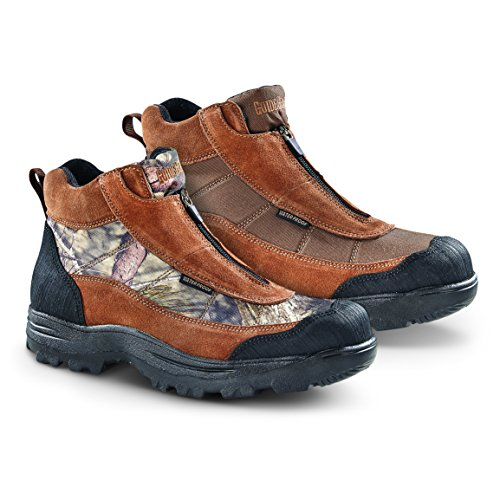 Guide Gear Men's Silvercliff II Mid Waterproof Hiking Boots, Mossy Oak Break-Up Country, 9.5 2E