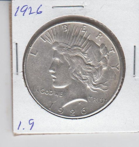 (1926 Peace Silver Dollar Coin - Low Mintage $1 Extremely Fine)