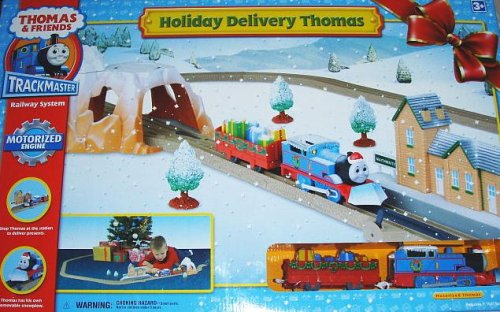 Thomas The Train Christmas Set.Christmas Train Sets