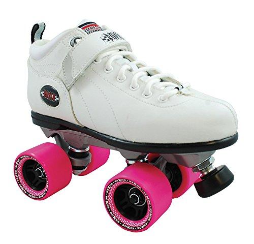 Sure-Grip Boxer Roller Skate Package - white sz Mens 9