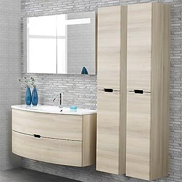 Badezimmer Set LUGI256 Sand strukturiert: Amazon.de: Küche & Haushalt
