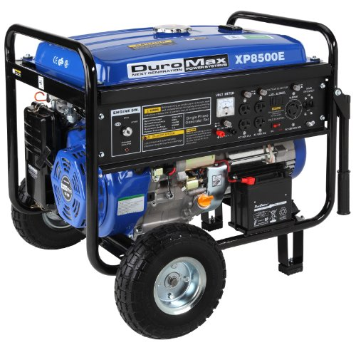 DuroMax XP8500E, 7000 Running Watts/8500 Starting Watts, Gas Powered Portable Generator made our list of best quiet generators for camping and best small generators for camping