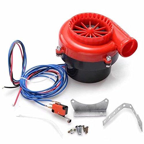 honscreat coche Fake Válvula de descarga electrónico Turbo Blow Off Valve BOV analógico Sonido para Honda Toyata mazada: Amazon.es: Coche y moto