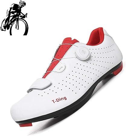 liangh Zapatilla De Deportivas para Adultos,Zapatillas De Bicicleta Carretera,Zapatillas Ligeras De Ciclismo,Antideslizantes Y Transpirables,B-EU39: Amazon.es: Hogar