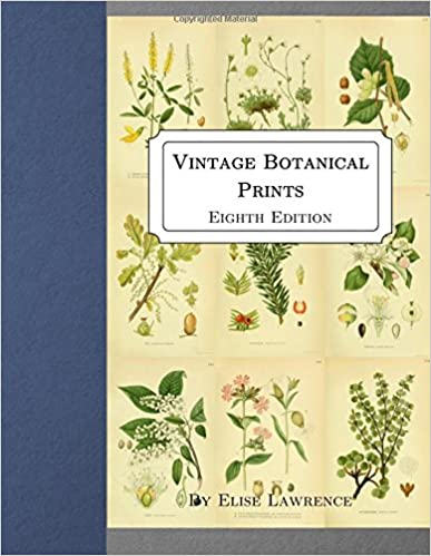 Vintage Botanical Prints: Eighth Edition