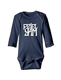 Unisex Pearl Jam Vitalogy Baby Onesies Outfits Sleepwear Long Sleeve
