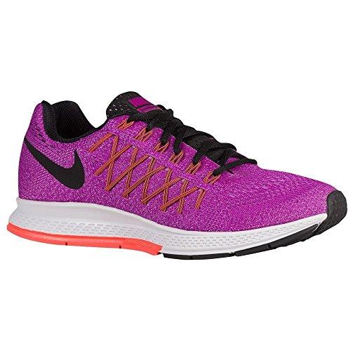 Scarpe Glow Acceso Fucsia Da Ginnastica Donna vivid Viola 32 Air Nike Purple nero Wmns Zoom Pegasus Black fchs wR44Fq