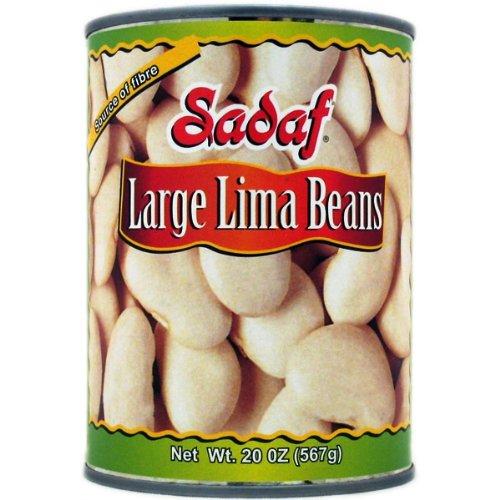 Sadaf Large Lima Beans, 20-Ounce (Pack of 8)