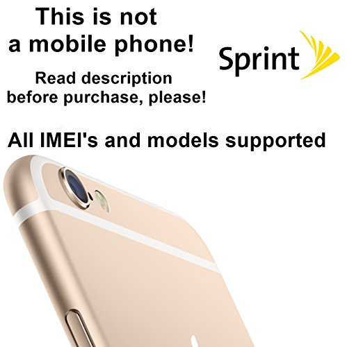 Sprint USA Factory Unlock Service for iPhone Mobile Phones - All IMEI`s Supported - Feel the Freedom