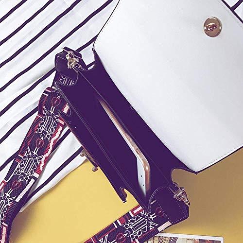 Messenger Colore Dimensione spalla tracolla Moontang colori Borsa a a Nero piccola Rosso a xTz4tPw4