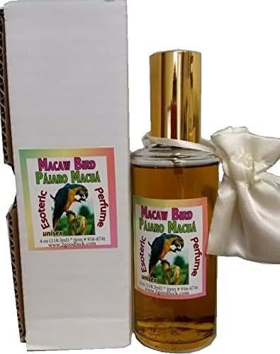 Macaw Bird Perfume with Pheromones & Amulet for Rituals & Magic - Perfume Con Feromonas & Amuleto, Pajaro Macuá, Para Rituales Y Magia