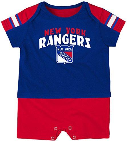 3b7f6b0ad Outerstuff NHL New York Rangers Boys Newborn   Infant Little Brawler Jersey  Romper