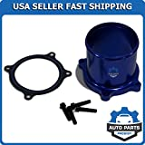 Throttle Valve Delete Kit for 07-17 Dodge Ram 6.7L L6 Cummins Diesel Turbo Blue