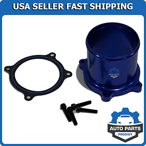 Auto Parts Prodigy Throttle Valve Delete Kit for 07-17 Dodge Ram 6.7L L6 Cummins Diesel Turbo Blue