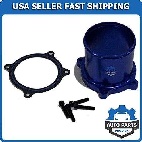 Throttle Valve Delete Kit for 07-17 Dodge Ram 6.7L L6 Cummins Diesel Turbo Blue