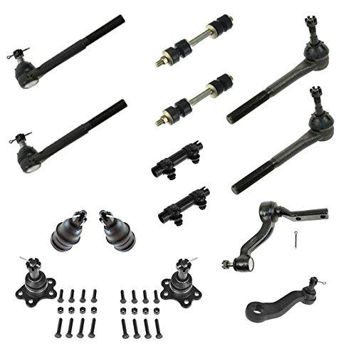 itman Idler Arm Sway Bar Link 14pc Steering Suspension Kit ()