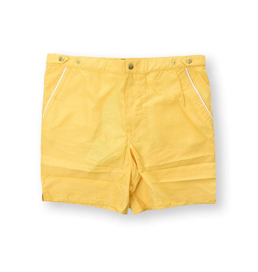Eleventy Mens 979BC0001BEA2000128 Yellow Polyester Trunks
