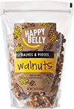 #9: Amazon Brand - Happy Belly California Walnuts, Halves and Pieces, 16 Ounce