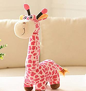 Amazon.com: Zhahender Cute and Soft Cuddly 40cm Giraffe Deer Soft Plush Toy Animal Dolls Baby Kids Birthday Party Gift(Pink): Toys & Games