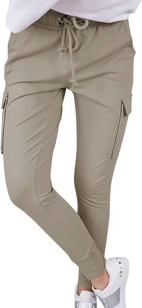 FRAUIT - Pantalón de chándal para Mujer con Cintura elástica y ...