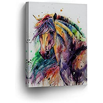 Horse Painting On Wall