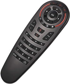 Docooler Control Remoto 2.4G Voz inalámbrica Fly Mouse 33 Teclas IR Learning Gyro Sensing Control Remoto Inteligente para Juego Android TV Box Mini PC: Amazon.es: Electrónica