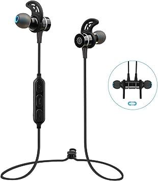 Auriculares Bluetooth Inalámbricos 4.0 Estéreo Deportivos ...
