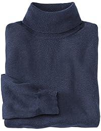 Cotton/Silk/Cashmere Turtleneck
