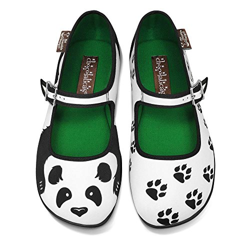 Jane Mary Women's Chocolaticas Multicoloured Chocolate Flat Hot Panda Design W7wZYa1Fq