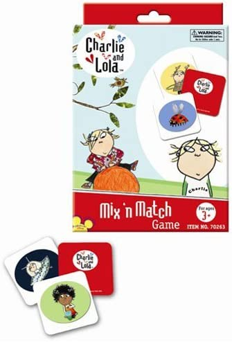 Charlie and Lola's Mix'n Match Game and Go Fish Cards Set