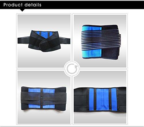 Double-Pull Neoprene Lumbar Support Belt (S-XXXXL) (XXXL(46-50''/116-126cm)) by Aofit (Image #4)