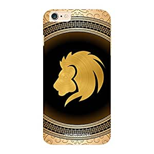 HomeSoGood Leo Zodiac Sign Gold 3D Mobile Case For iPhone 6 Plus (Back Cover)