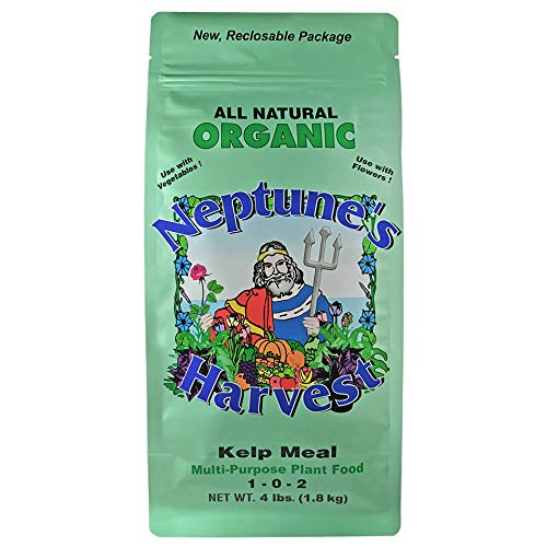 Neptune's Harvest Kelp Meal Multi-Purpose Plant Food 1-0-2, 4 lb